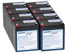 Avacom pro renovaci RBC43 (8ks baterií) (AVA-RBC43-KIT)