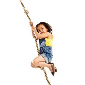Šplhací lano CUBS s uzly k dětskému hřišti