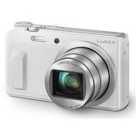 Digitálny fotoaparát Panasonic DMC-TZ57EP-W biely