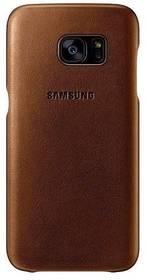 Samsung pro Galaxy S7 Edge kožené ( EF-VG935LU) (EF-VG935LUEGWW) béžový