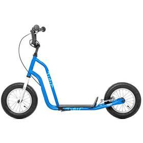 """Yedoo Basic Tidit 12"""" modrá + Reflexní sada 2 SportTeam (pásek, přívěsek, samolepky) - zelené v hodnotě 58 Kč + Doprava zdarma"""