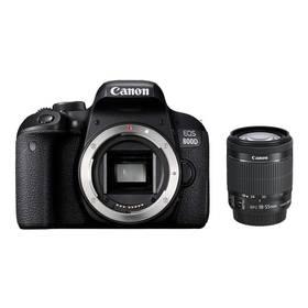Canon EOS 800D + 18-55 IS STM (1895C002AA) černý + Cashback 2700 Kč + Doprava zdarma