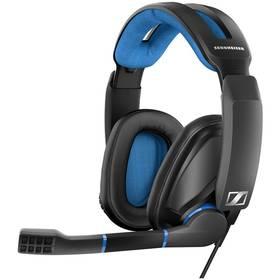 Headset Sennheiser GSP 300 (507079) čierny/modrý