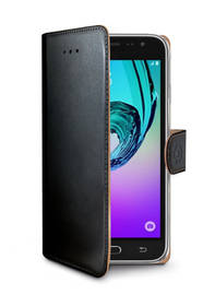 Celly Wally pro Samsung Galaxy J3 (2016) (WALLY555) černé