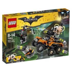 LEGO® BATMAN MOVIE 70914 Bane™ a útok s náklaďákem plným jedů + Doprava zdarma