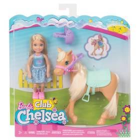 Mattel Chelsea a poník + Doprava zdarma