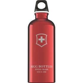 Sigg Swiss Emblem Red 0,6l červená + Doprava zdarma