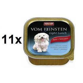 Animonda Vom Feinsten Light Lunch krůta + šunka 11 x 150g