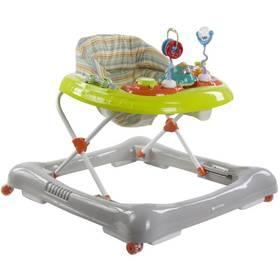 Chodítko detské Sun Baby Car sivé/zelené