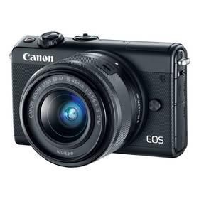 Canon EOS M100 + EF-M 15-45mm IS STM (2209C096) černý + Doprava zdarma