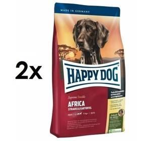 HAPPY DOG AFRICA Grainfree 2 x 12,5 kg + Doprava zdarma