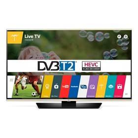 Televize LG 43LF631V černá/zlatá