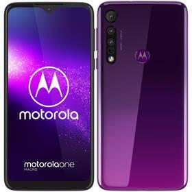 Motorola One Macro (PAGS0020PL) fialový