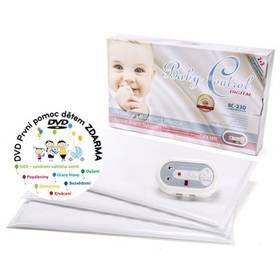 Baby Control BC-230, tři senzorové podložky bílá + Doprava zdarma