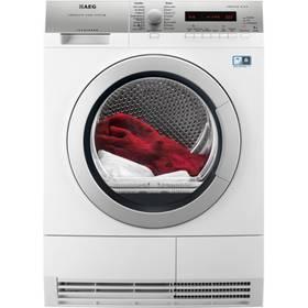 Sušička prádla AEG Lavatherm T76788IHCS bílá