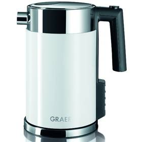 GRAEF WK 701 bílá/nerez + Doprava zdarma