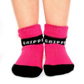 Rostoucí ponožky Snuguns booties - růžové