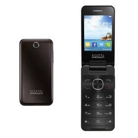 Mobilný telefón ALCATEL ONETOUCH 2012D Dual Sim (2012D-2AALCZ1) hnedý
