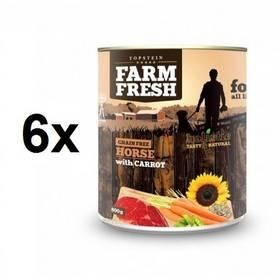 Farm Fresh Horse with Carrots 6 x 800 g