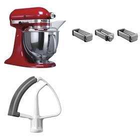 Set KitchenAid - kuchyňský robot 5KSM150PSEER + KPRA strojek na těstoviny + Doprava zdarma