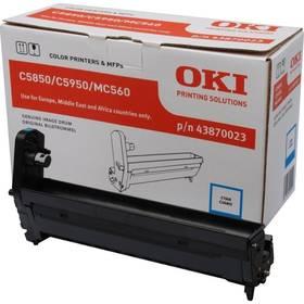 OKI C5850/5950/MC560, 20000 stran (43870023) modrý