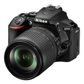 Nikon D5600 + AF-S 18-105 VR černý Dárek Nikon - kniha Mistrovství práce s DSLR (zdarma) + Doprava zdarma