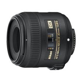 Nikon NIKKOR 40MM F2.8G ED AF-S DX MICRO černý + Doprava zdarma