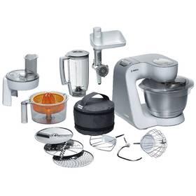 Bosch MUM54240 stříbrný/bílý + Doprava zdarma