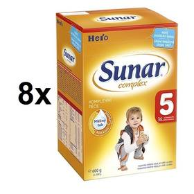 Sunar Complex 5, 600g x 8ks + Doprava zdarma