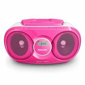 Philips AZ215C růžový