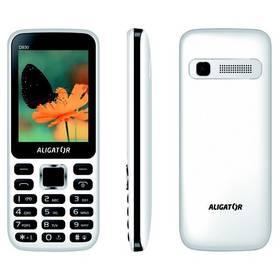Aligator D930 Dual SIM (AD930WB) černý/bílý + Doprava zdarma