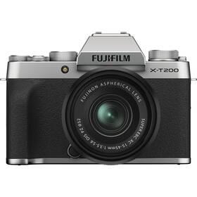 Fujifilm X-T200 + XC15-45 černý/stříbrný
