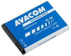 Avacom pro Nokia 3220, 6070, Li-Ion 3,7V 890mAh (náhrada BL-5B) (GSNO-BL5B-S890)