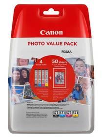 Canon CLI-571 XL PHOTO VALUE Pack, CMYK (0332C005)
