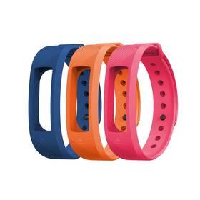 Evolveo pro FitBand B2 - 1x modrá, 1x oranžová a 1x růžová (FTD-B2-RS2)