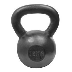 Kettlebell LIFEFIT Steell 16kg čierna