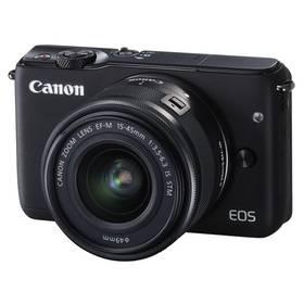 Canon EOS M10 + 15-45mm STM černý + Doprava zdarma