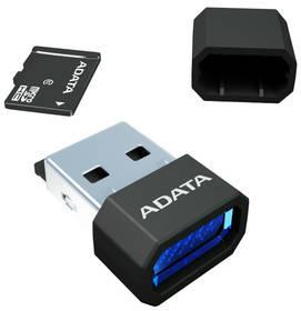 ADATA 16GB Class 10 UHS-U1 (50R/10W) + čtečka MicroReader Ver.3 (AUSDH16GUICL10-RM3BKBL) černá