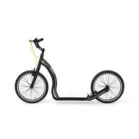 Yedoo Alloy Dragstr černá + Reflexní sada 2 SportTeam (pásek, přívěsek, samolepky) - zelené v hodnotě 58 Kč + Doprava zdarma