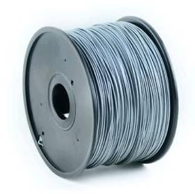 Tisková struna (filament) Gembird Tisková struna (filament) Gembird, ABS, 1,75mm, 1kg stříbrná