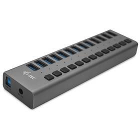 i-tec 13x USB 3.0, 60W (U3CHARGEHUB13) strieborný