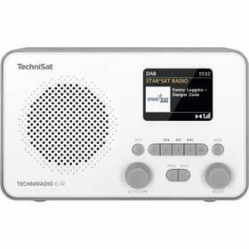 Technisat TECHNIRADIO 6 IR bílý (vrácené zboží 8800886095)