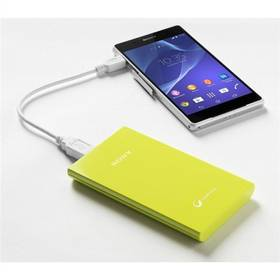 Power Bank Sony CP-V5, 5000 mAh (CP-V5G) zelená
