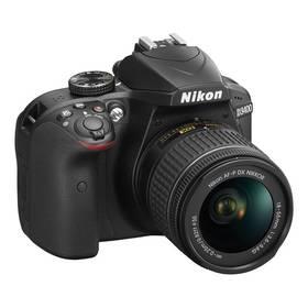 Nikon D3400 + AF-P 18-55 NON VR + 4x čištění čipu zdarma (VBA490K002) černý + Doprava zdarma