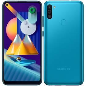 Mobilní telefon Samsung Galaxy M11 (SM-M115FMBNEUE) modrý