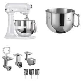 Set KitchenAid - kuchyňský robot 5KSM7580XEFP + 5KR7SB mísa 6,9 l + FPPC balíček s příslušenstvím + Doprava zdarma