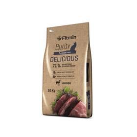FITMIN Cat Purity Delicious 10 kg + Antiparazitní obojek za zvýhodněnou cenu + Doprava zdarma