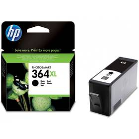 HP No. 364XL, 18ml, 550 stran - originální (CN684EE) černá