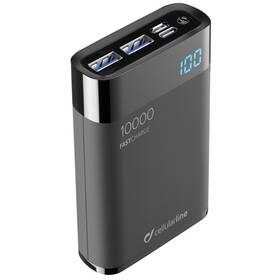 CellularLine FreePower Manta HD 10000mAh, USB-C PD, QC 3.0 (FREEPMANTA10HDK) čierna