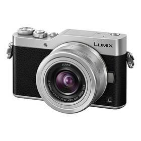 Panasonic Lumix DC-GX800 + 12-32mm (DC-GX800KEGS) stříbrný + Doprava zdarma